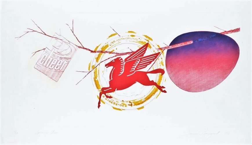 Spring Cheer by James Rosenquist at