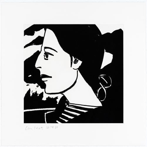 Ada #7 by Alex Katz at