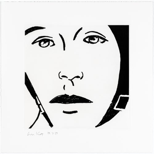 Ada #9 by Alex Katz at Alex Katz