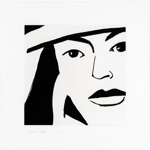 Ada #10 by Alex Katz at Alex Katz