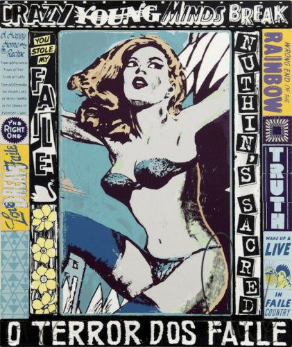 The Right One, Happens Everyday by Faile at