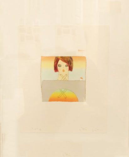 Over the Rainbow – Collectors Edition by Yoshitomo Nara at