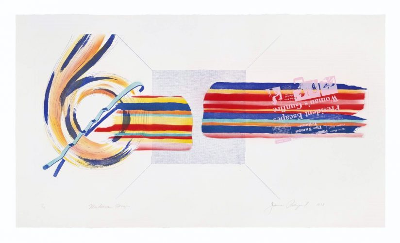 Windscreen Horizon by James Rosenquist at