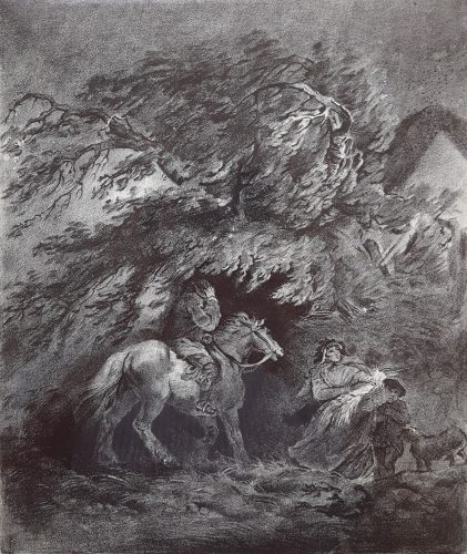 The Storm by George Morland at