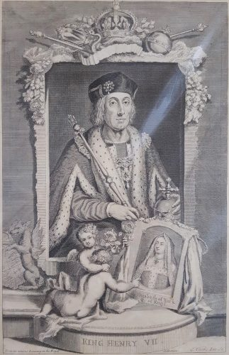 King Henry VII by George Virtue at