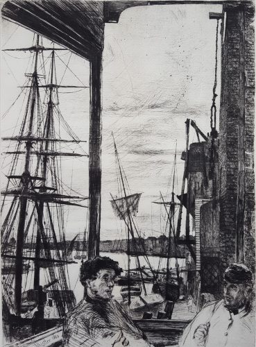 Rotherhithe (Thames Set) by James Abbott McNeill Whistler at