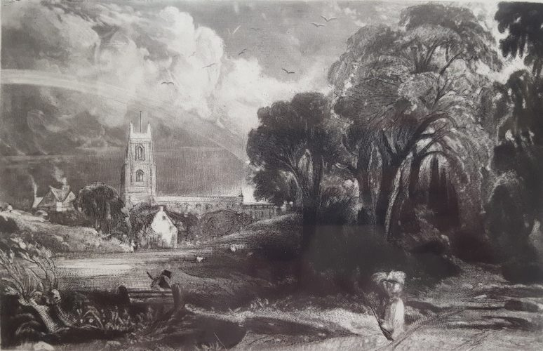 Stoke by Nayland, Suffolk by John Constable at
