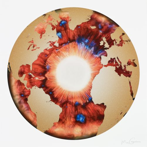 Geography by Marc Quinn at