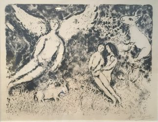 Light and Shade by Marc Chagall at Robin Rosenberg Fine Art