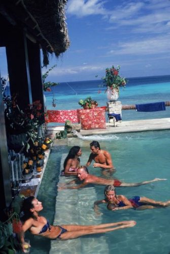 ' Plantation Cocoyer ' 1981 Slim Aarons Limited Estate Stamped C Print by Slim Aarons at