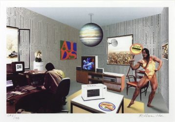 Just what is it that makes today's homes so different? by Richard Hamilton at Independent Gallery