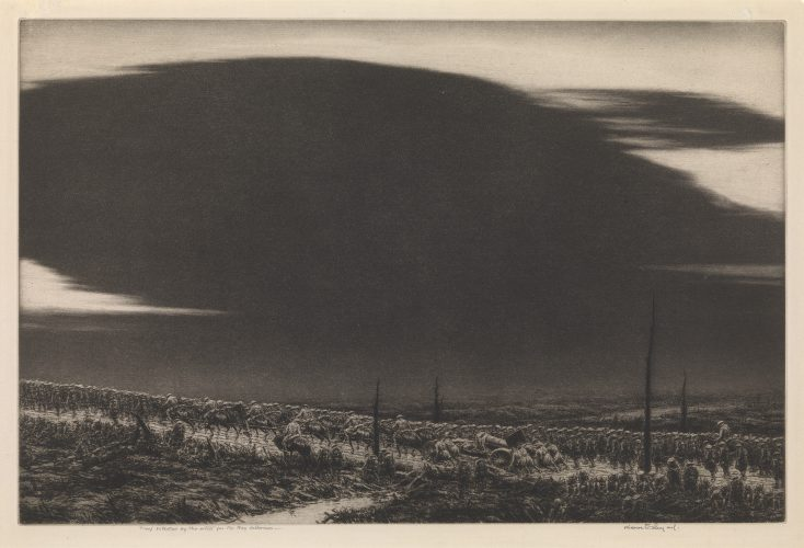 September 13 1918, St.Mihiel (The Great Black Cloud) by Kerr Eby at Osborne Samuel Gallery