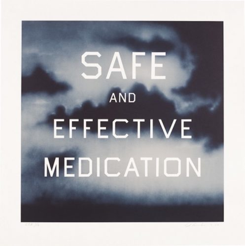Safe and Effective Medication by Ed Ruscha at