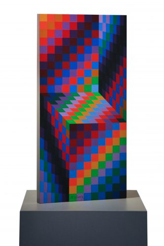 Axo 99 by Victor Vasarely at
