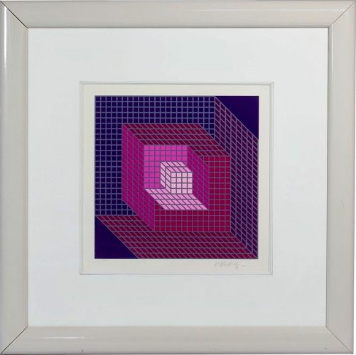 Axomett by Victor Vasarely at