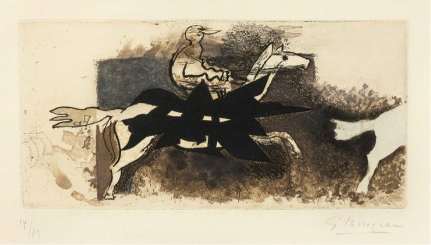 Le Jockey by Georges Braque at Georges Braque