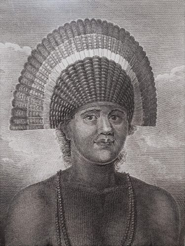 Poulaho, King of the Friendly Islands by John Webber at