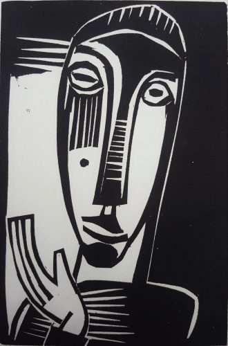 Kleine Prophetin (Little Prophetess) by Karl Schmidt-Rottluff at