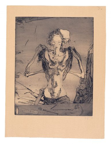 Plate 3 by Horst Janssen at
