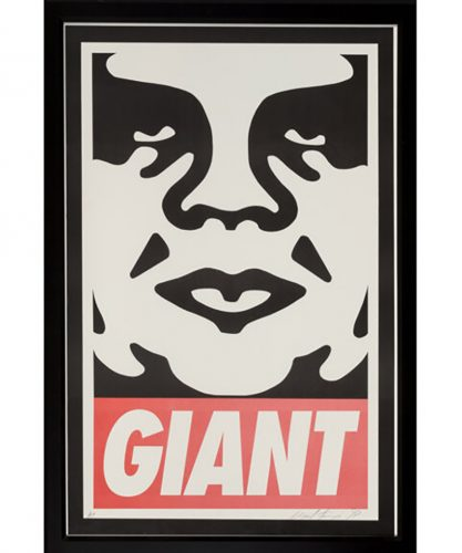 Untitled (GIANT) by Shepard Fairey at