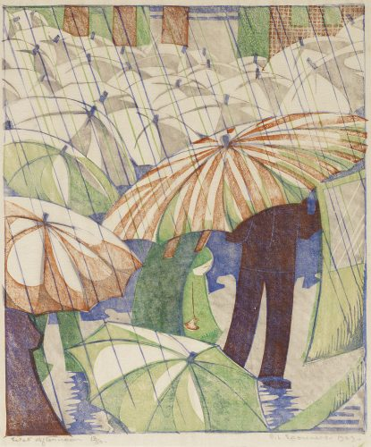 Wet Afternoon by Ethel Spowers at