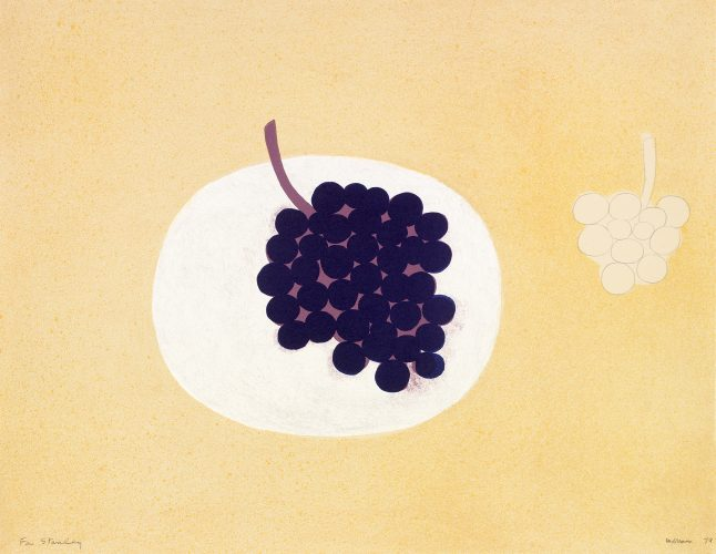 Grapes by William Scott at