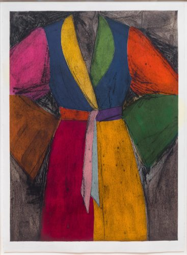 Very Picante by Jim Dine at Leslie Sacks Gallery (IFPDA)