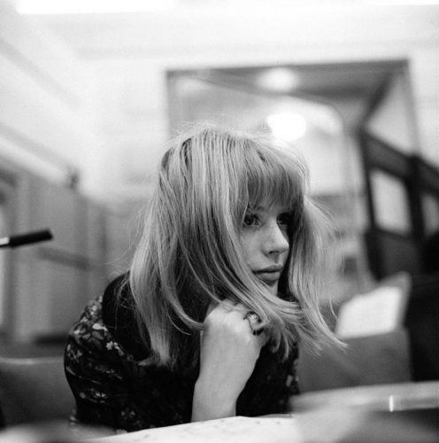 Marianne Faithfull Signed Limited Edition 1964 by Gered Mankowitz at