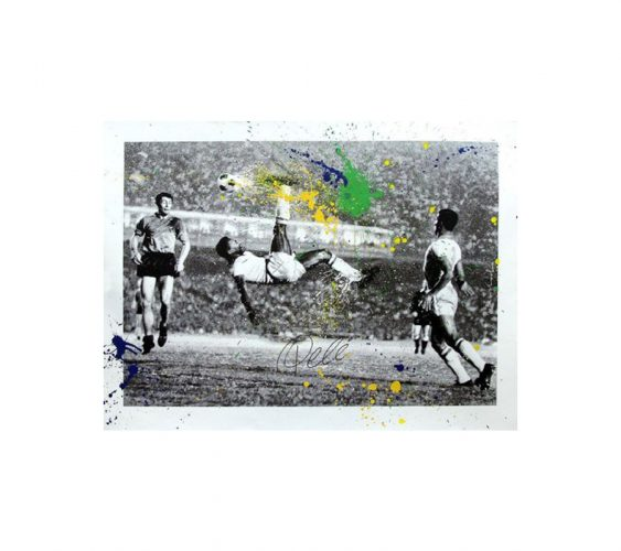 The King Pelé by Mr. Brainwash at