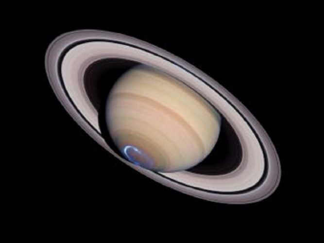 ' Aurora On Saturn ' 2004 Science Photo Library Print by Science Photo Library Archive at Science Photo Library Archive