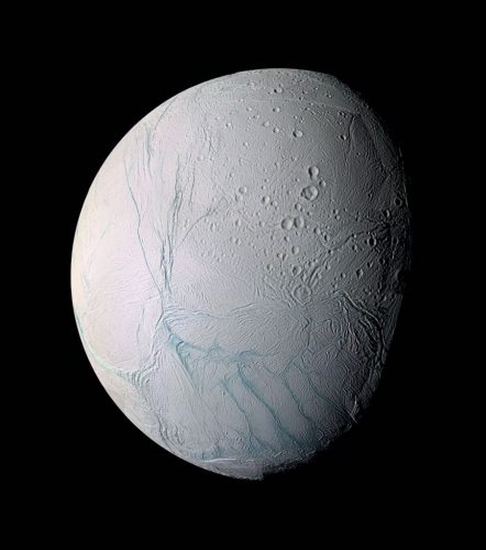' Enceladus ' 2005 Science Photo Library Print by Science Photo Library Archive at Science Photo Library Archive