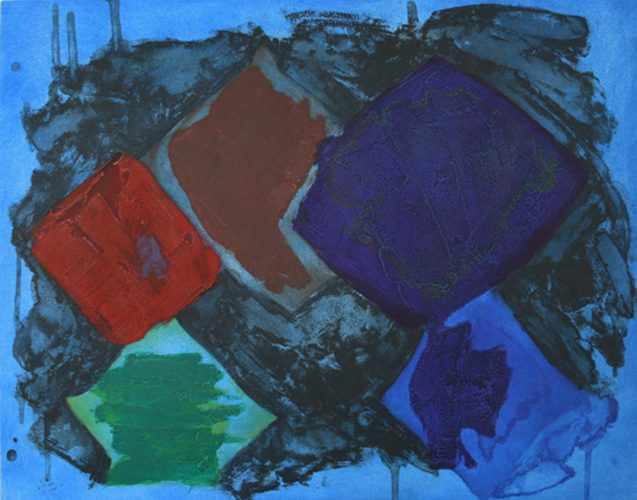 Night Music by John Hoyland at