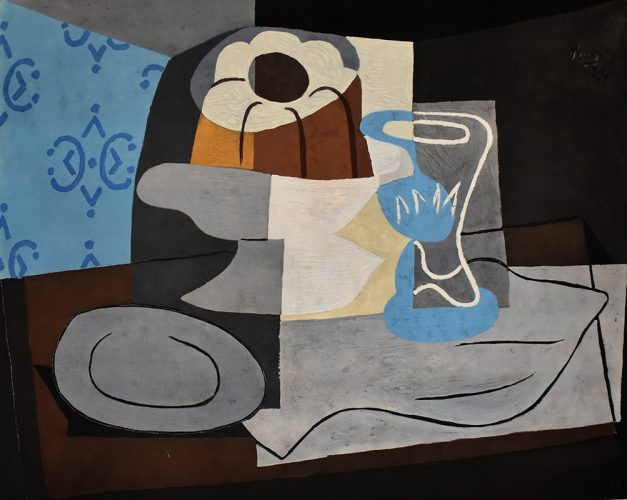 Still Life with Charlotte Cake | Nature Morte à la Charlotte, by Pablo Picasso (after) at