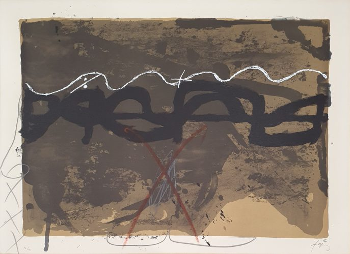 Nocturn Matinal (G.243a) by Antoni Tapies at