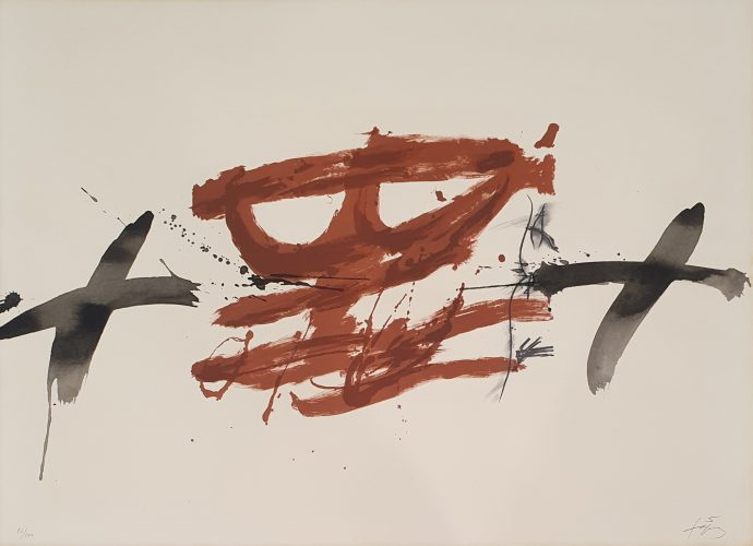 Nocturn Matinal G.237 by Antoni Tapies at