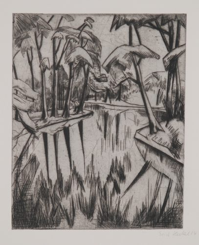 Parksee by Erich Heckel at