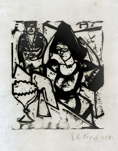 Toilette by Ernst Ludwig Kirchner at