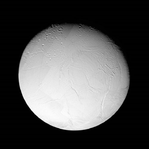 ' Enceladus Sixth-largest Moon of Saturn ' 2005 Science Photo Library Print by Science Photo Library Archive at Science Photo Library Archive