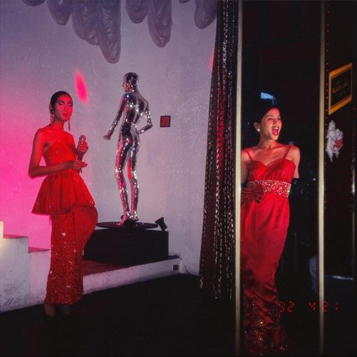 C and So competing for the Oscar, Second Tip, Bangkok (1992) by Nan Goldin at