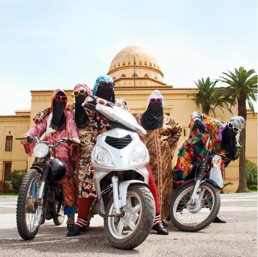 Kesh Angels, Marrakesh, 2010/1431 (2010) by Hassan Hajjaj at