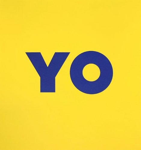 Yo by Deborah Kass at