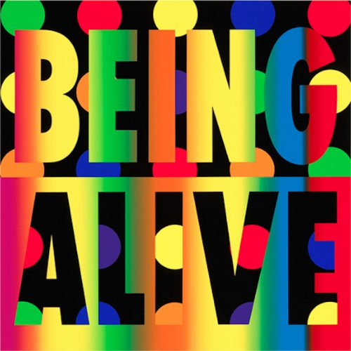 Being Alive by Deborah Kass at Oliver Cole Gallery