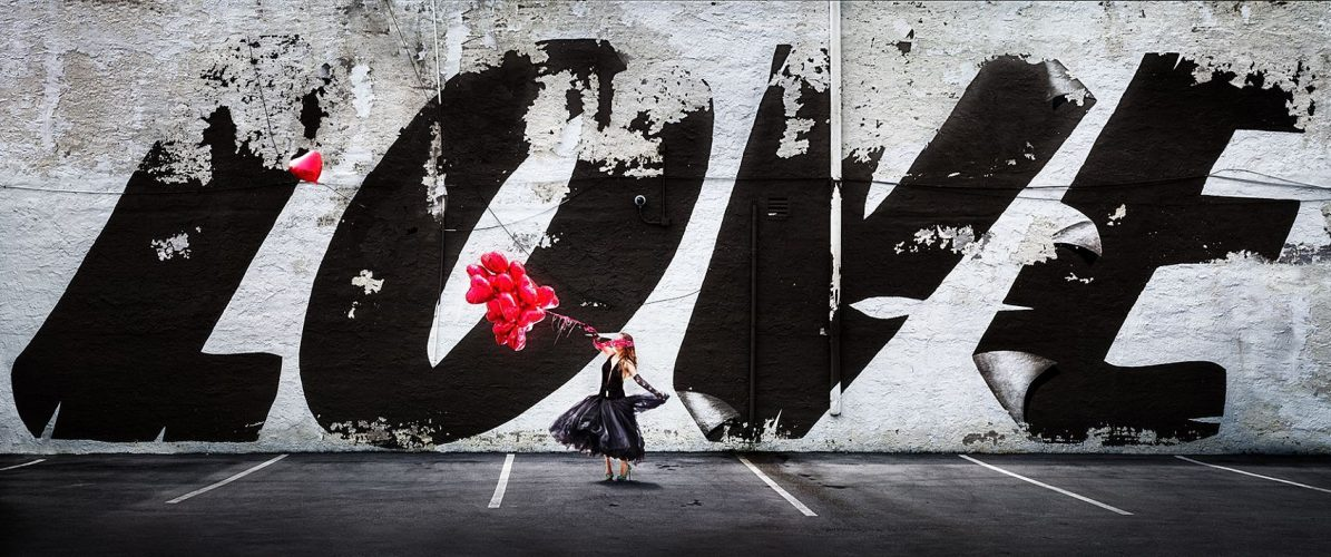 Love is in the air by David Drebin at
