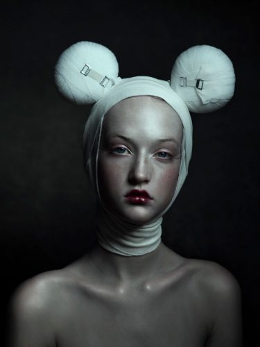 Bandage Mickey by Jenny Boot at