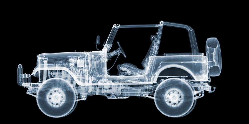 CJ7 Jeep by Nick Veasey at