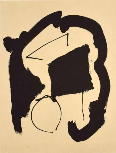 Composition XXV, from: Octavio Paz – Three Poems by Robert Motherwell at