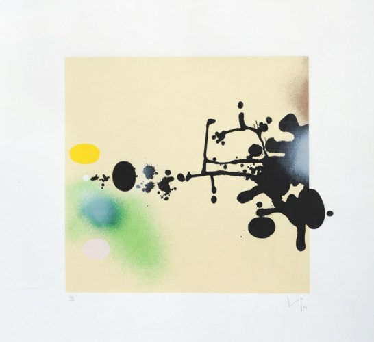 Burning Water, 1984 by Victor Pasmore at K Contemporary Ltd.