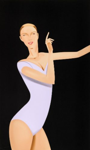 Dancer 1 by Alex Katz at Oliver Cole Gallery