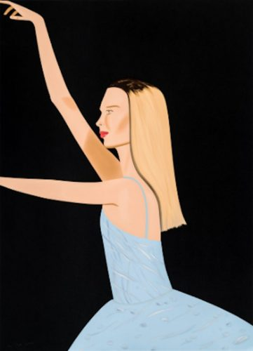 Dancer 2 by Alex Katz at Oliver Cole Gallery