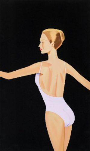 Dancer 3 by Alex Katz at Oliver Cole Gallery